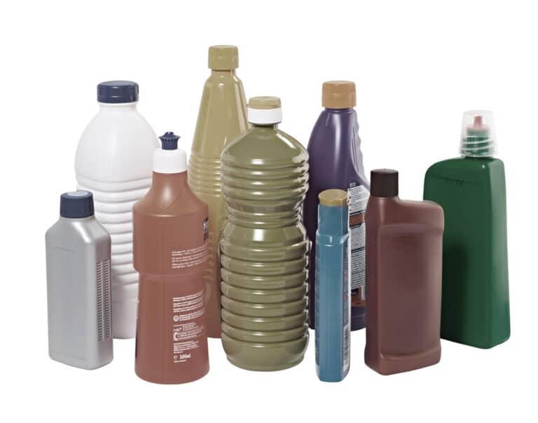 Kunststoffflaschen gross